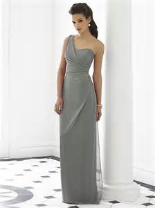 charcoal bridesmaid dresses length nu georgette one shoulder bridesmaid dresses sleeveless formal