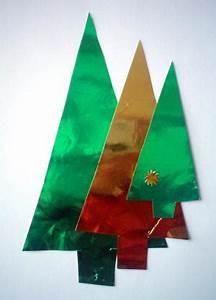 Tannenbaum Basteln Papier Vorlage : tannenb ume aus goldpapier weihnachten basteln meine enkel und ich ~ Orissabook.com Haus und Dekorationen