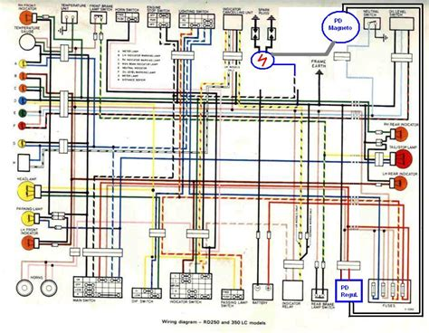 Yamaha R5 Wiring Diagram by Rd 350