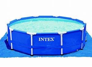 tapis de sol pour piscine hors sol intex jardideco With tapis de piscine hors sol