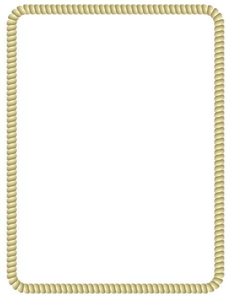 Rope Border Clipart Simple Rope Border Clip Pictures To Pin On