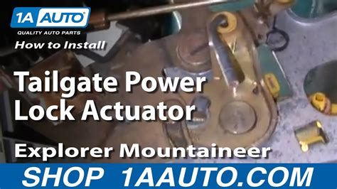 How Replace Door Lock Actuator Ford Expedition