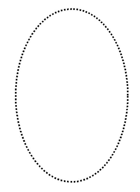 20 top gallery of oval best photos of oval stencil to trace oval shape template