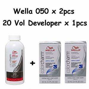 Wella Color Charm Toner Chart Wella Color Charm 050 Cooling Violet 2 Pack With Cream 20