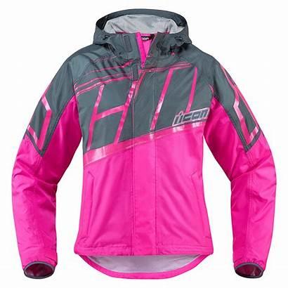 Waterproof Pink Icon Jacket Womens Jackets Rain