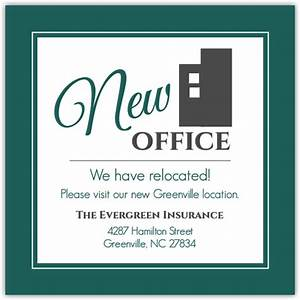 modern building business moving announcement business With business moving postcards