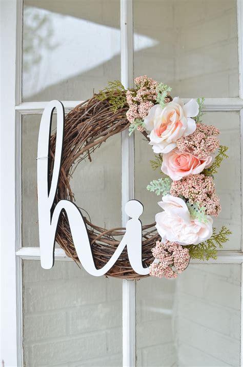 diy summer wreath   front porch diy wreath easy