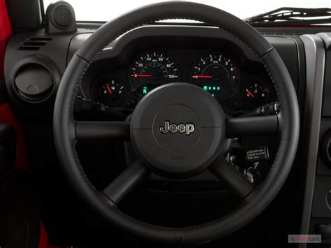 image  jeep wrangler wd  door  steering wheel