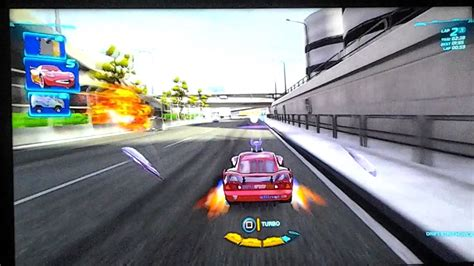 Cars 2 The Video Game Ps3 Lightning Mcqueen Player Youtube