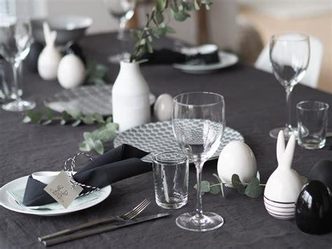 Schwarz Weiß Tischdeko by Nordische Tischdeko Simpel Und Lagom In Schwarz Wei 223