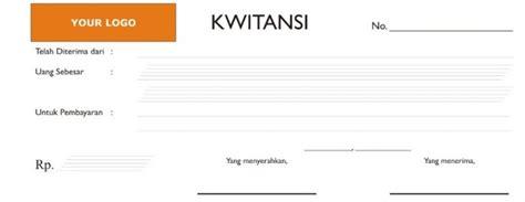 kwitansi definisi fungsi dan manfaat terlengkap