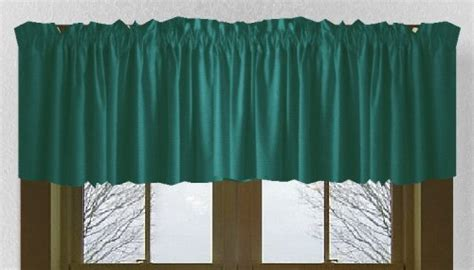 Solid Dark Teal Colored French Door Curtain (available In