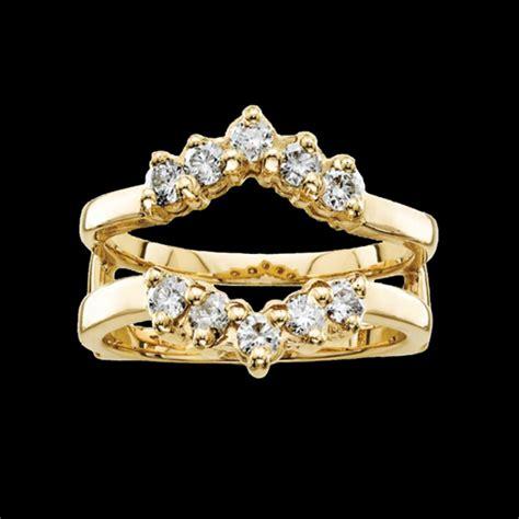 14k gold diamond ring guard