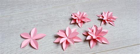 fleur en papier facile fleurs en papier la t 234 te dans les id 233 es