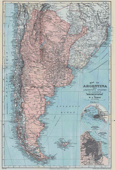 large detailed  map  argentina  argentina