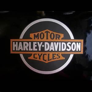 Harley Davidson Aufkleber : aufkleber harley davidson emblem antique 0551 zu kaufen ~ Jslefanu.com Haus und Dekorationen