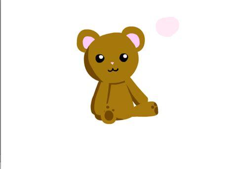 teddy bear love animation by amylovespenguins on deviantart