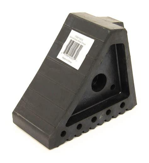 maxxtow wheel chock  handle solid rubber maxxtow