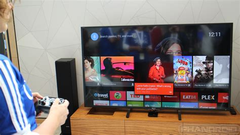 how to android to tv android tv on impressions and unboxing