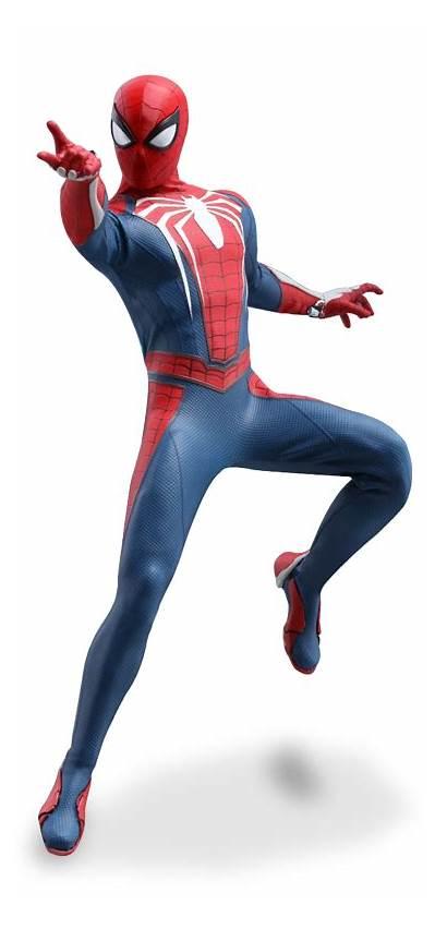 Spider Suit Advanced Marvel Figure Toys Action