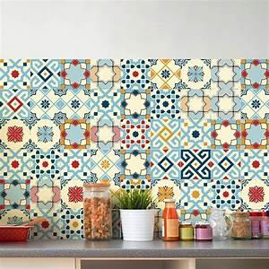Stickers Carreaux De Ciment Cuisine : 60 stickers carreaux de ciment sevilla art et design ~ Melissatoandfro.com Idées de Décoration