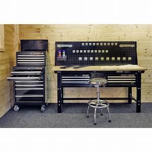 Werkzeug Mit A : werkstatt set wp 4 schwarz werkstattwagen werkzeugkiste werkzeug lochwand ~ Orissabook.com Haus und Dekorationen
