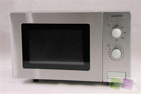 Siemens Hf12m540 Mikrowelle  17 L  800 W Edelstahl