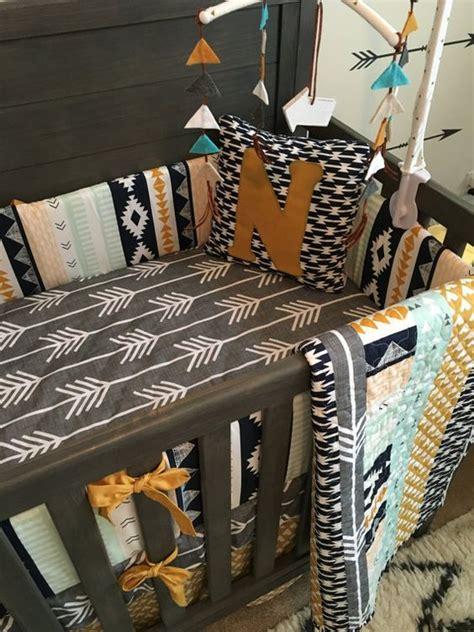 aztec crib bedding aztec designs deer and skirts on