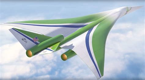 Nasa Seeks To Revive Supersonic Air Travel With Quiet