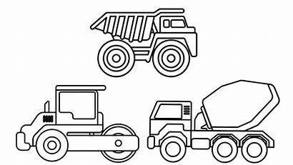Coloring Truck Dump Construction Colouring Tonka Sheet