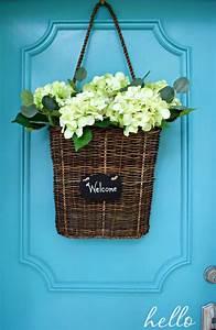 Simple Summer Front Door Basket Chatfield Court