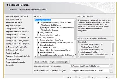 baixar o padrão microsoft sql 2012 express
