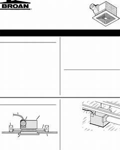 Broan Fan S80u User Guide