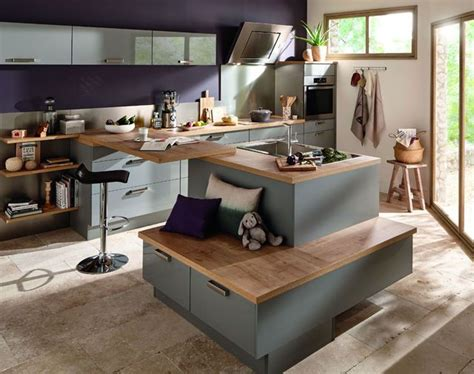 cuisine 238 lot central 12 photos de cuisinistes c 244 t 233 maison