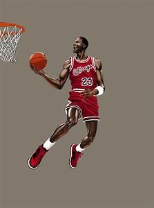 Michael Jordan Dunk By P Tecker On Deviantart