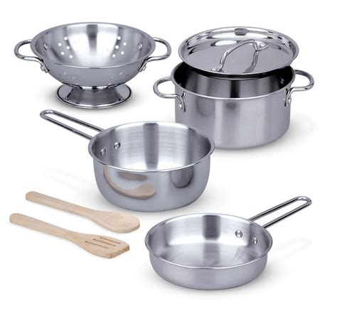 doug pots and pans set co uk toys
