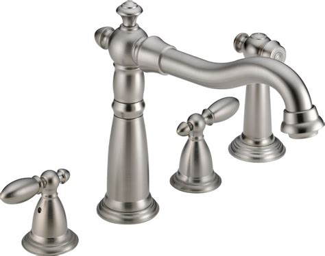 delta kitchen sink faucet delta water faucet stainless 6533