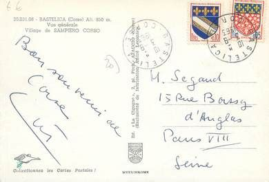 Delce Cartes Postales Europe by Cpsm 20 Quot Corse Bastelica Vue G 233 N 233 Rale Quot 20