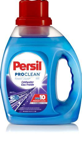 persil pro clean coldwater power liquid detergent