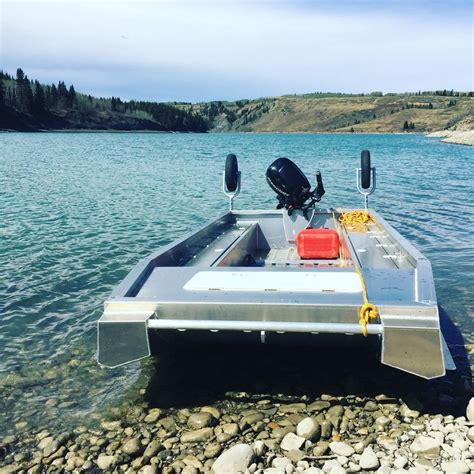 Catamaran Hull Fishing Boats by We Make These Awesome Super Stable Dual Purpose River And