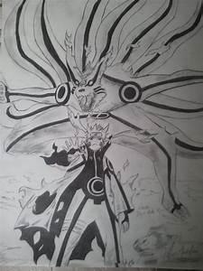 Naruto Bijuu Mode by pillarr on DeviantArt