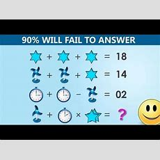 The Table Fan, Clock And Star Puzzle  90% Will Fail To Answer Youtube