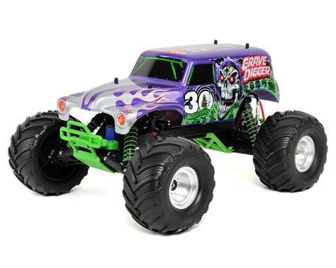 grave digger 30th anniversary monster truck toy traxxas 30th anniversary quot grave digger quot monster jam 1 10