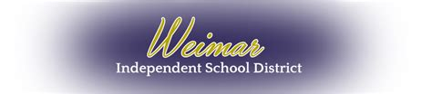 weimar independent school district
