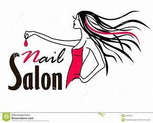Hair clipart nail salon - Pencil and in color hair clipart
