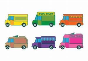 Food Truck Vector - Download Free Vector Art, Stock ...