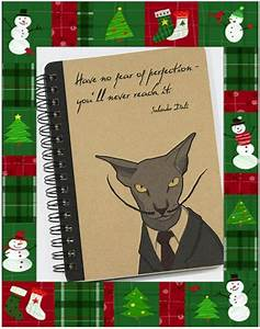 Cahier De Note : plein d 39 id es cadeaux pour no l chat ch 39 est chouette ~ Teatrodelosmanantiales.com Idées de Décoration