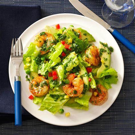 Shrimp & Avocado Salads Recipe | Taste of Home