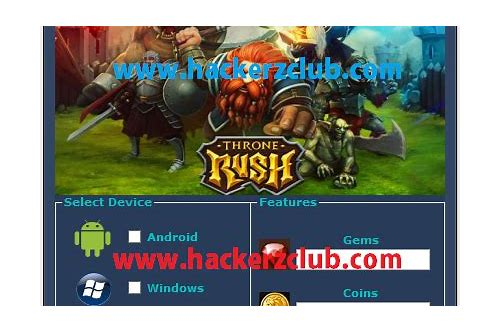 throne rush pc free download