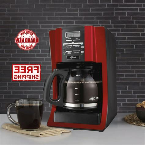 Make your day better than ever with the power of hot coffee. Mr. Coffee 12 Cup Programmable Modern Design